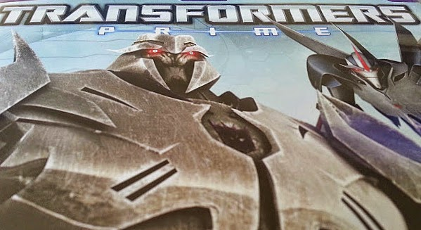 Transformers Prime: Darkest Hour DVD review and giveaway Cover close up