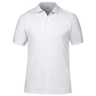 Kaos Polos Polo Maxi Soft Putih