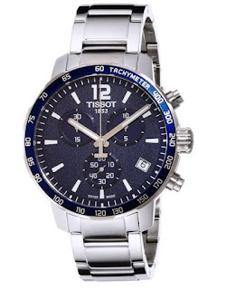Tissot Men T0954171104700 Quickster Blue Watch