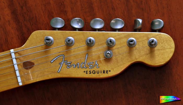 Fender Esquire Headstock