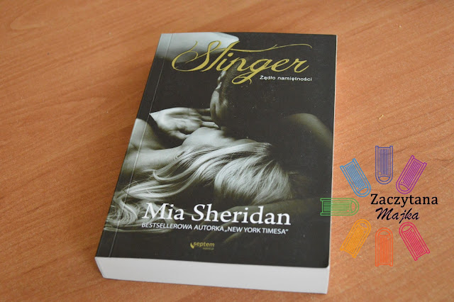 """Recenzja #124 - Mia Sheridan """"Stinger. Żądło namiętności"""""""