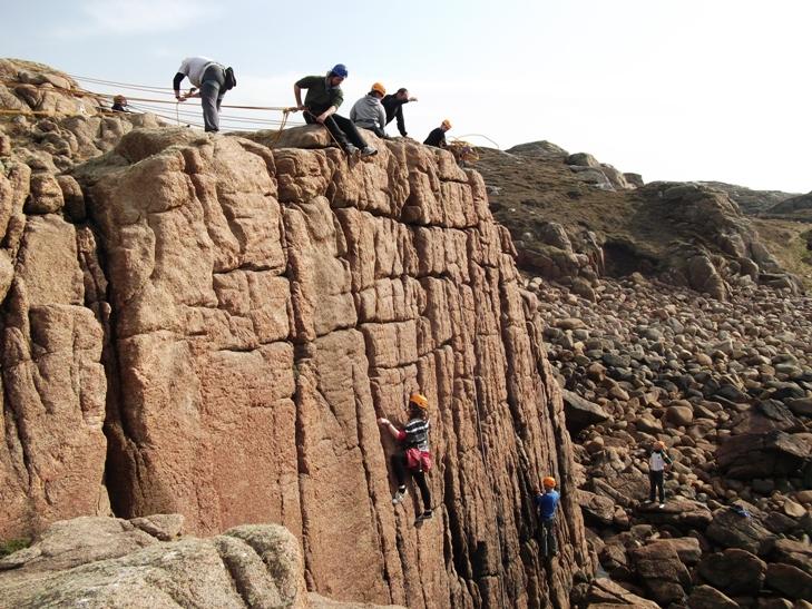 Donegal Rock Climbing. Unique Ascent: Donegal Rock ...