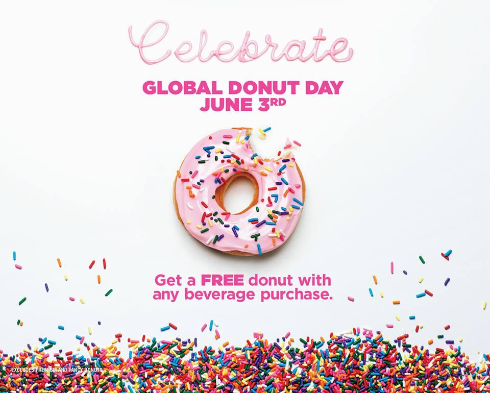 Dunkin Donut Celebrate GLOBAL DONUT DAY - Katalog Harga Promo Terbaru - Katalog Harga Promo Terbaru
