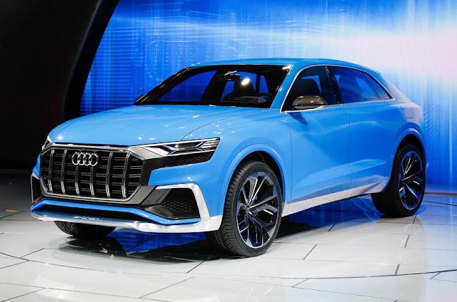 Latest Audi q8