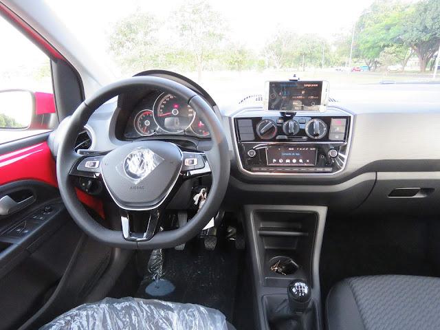 Novo VW Up! 2018 - painel