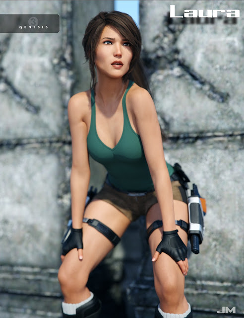 Laura for Genesis 3 Female