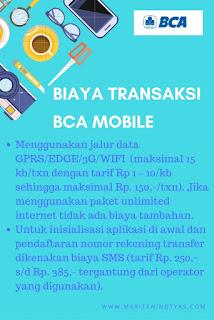 Biaya Transaksi BCA Mobile