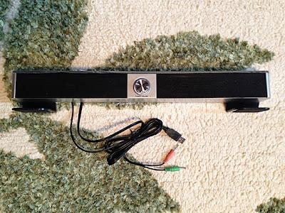 LCD モニタースピーカー「SOUNDBAR」CRS-900-USB