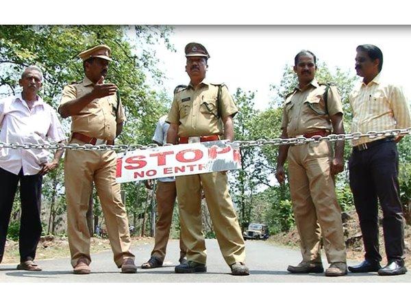 Kothamangalam, Kerala, News, Road, Vehicles, Bhoothathankettu - Idamalayar road closed due to animal attack