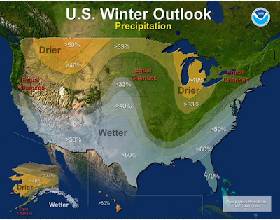 December 2015 - February 2016 Climate Prediction Center Forecast