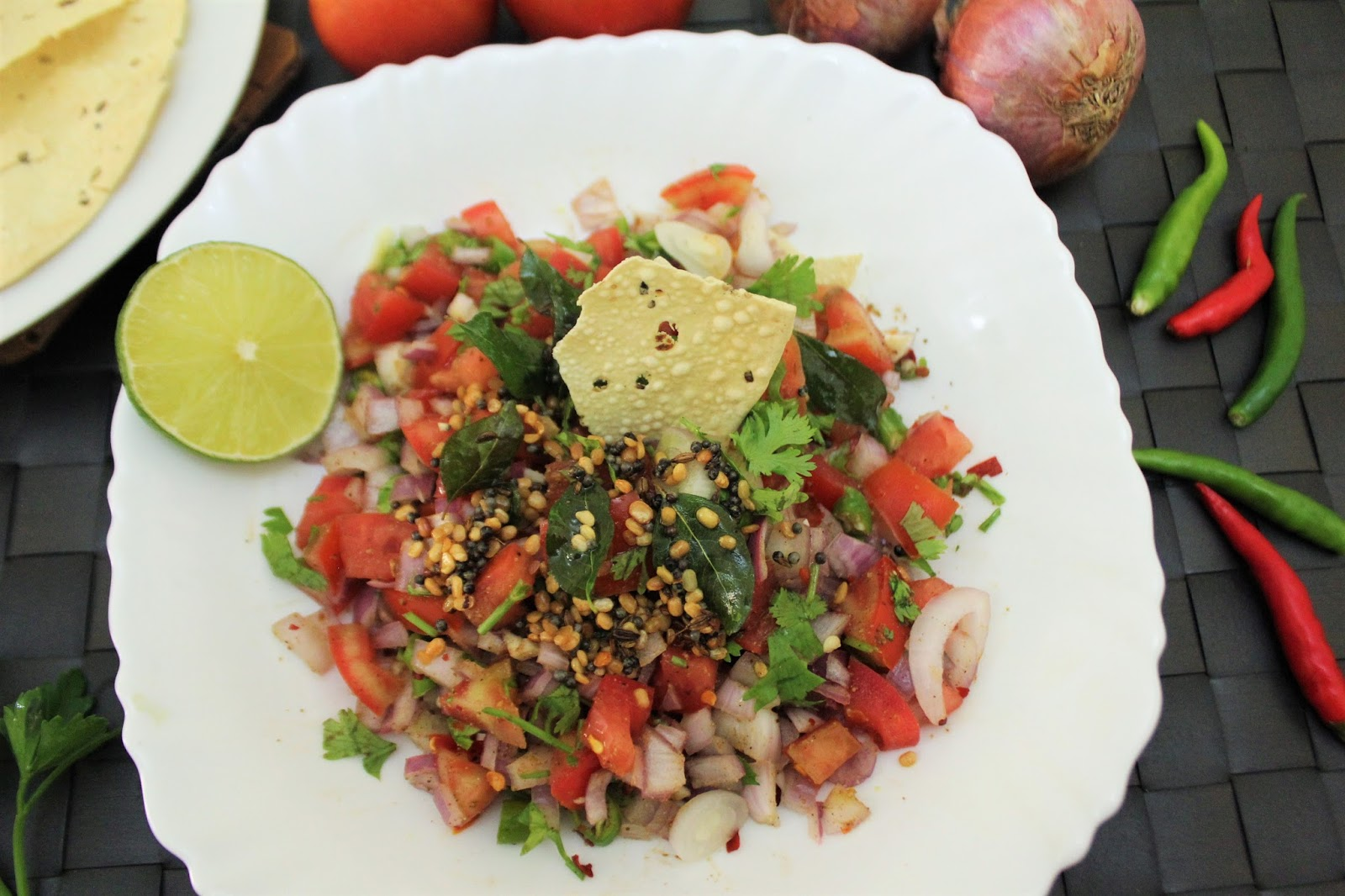 Bethica S Kitchen Flavours Mexican Salsa With Indian Tadka Fusion Style