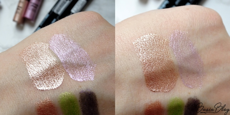 My Secret Extreme Gleam Liquid Eyeshadow 03 Guiltless, 04 Supernatural, cienie w kremie My Secret, cienie w płynie My Secret