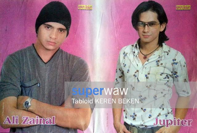 Poster Ali Zainal & Jupiter