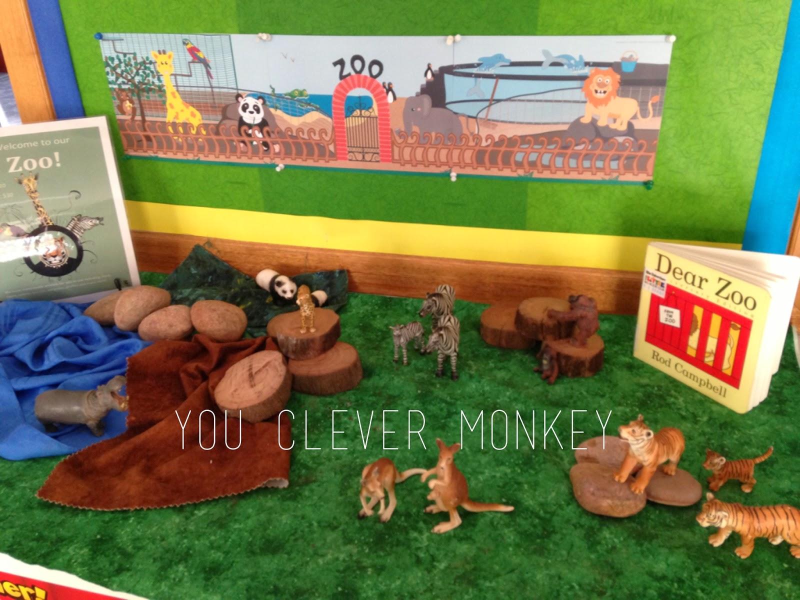 You Clever Monkey Dear Zoo