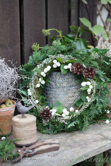 julkrans how to make christmas wreath