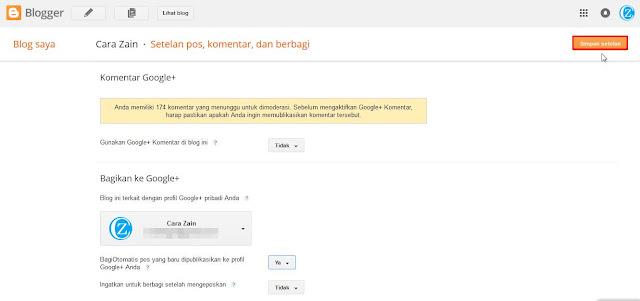 Cara Share Posting Blog Otomatis Ke Google Plus Terbaru