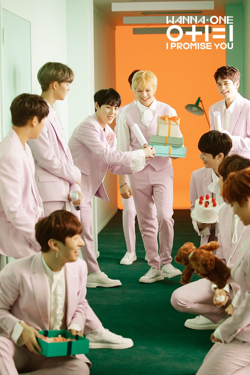 180305 Melon Update With Wanna One I Promise You Special Theme