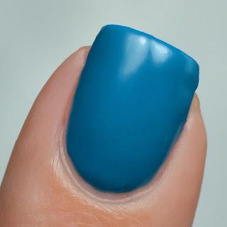 blue neon nail polish