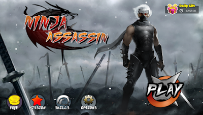 Ninja Assassin v 1.1.5 Apk Mod (Unlimited coin/VIP purchased) Terbaru