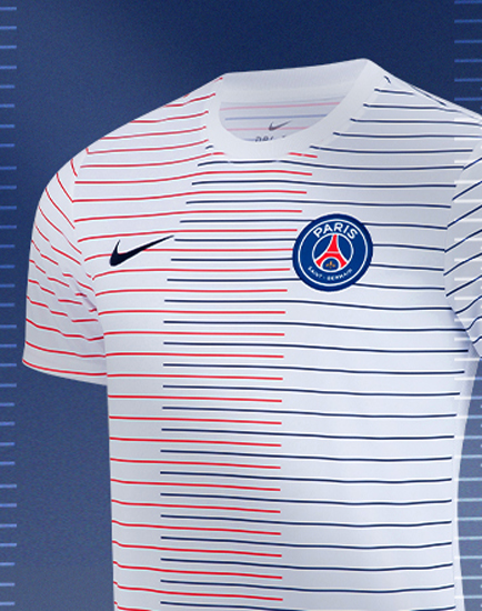 low priced 1a1c8 f4df0 Nike PSG 19-20 Pre-Match Shirt Released - Footy Headlines