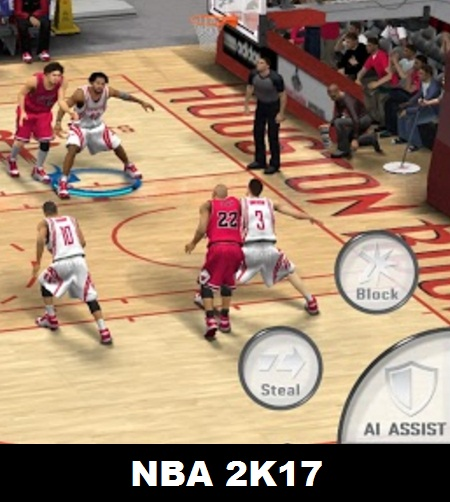 NBA 2K17 released on Android mobiles in 2017