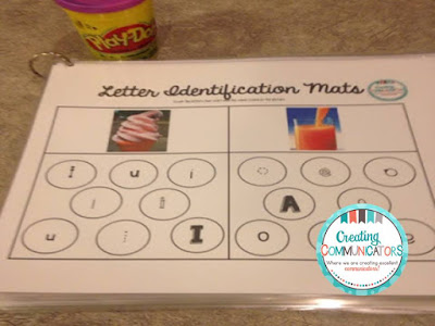 http://creatingcommunicators-mindy.blogspot.ca/2016/12/freebie-letter-identification-mats.html