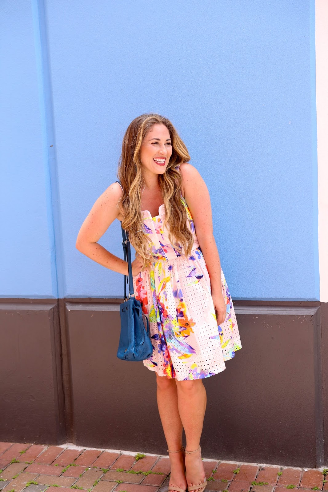 Trend Spin Linkup - Cute Summer Dress with Current Boutique by fashion blogger Walking in Memphis in High Heels
