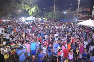 Sucesso de publico multidão toma conta da praça do Encontro em Guarabira na segunda e ultima noite do São Pedro de rua
