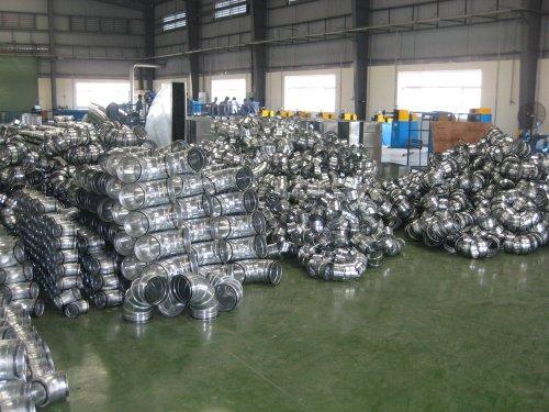 Chuyên sản xuất, gia công ống gió và phụ kiện ống gió