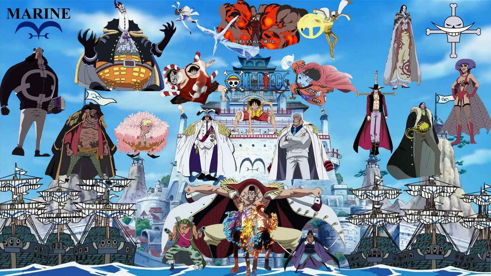 Download One Piece Arc Marineford Batch Subtitle Indonesia