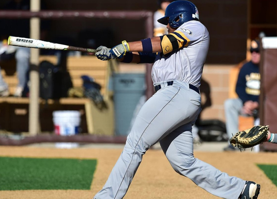 Chase Arnold had the hot bat again for La Salle