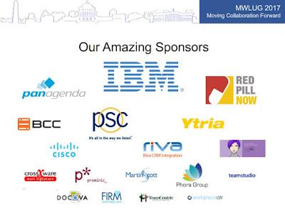 MWLUG 2017 sponsors
