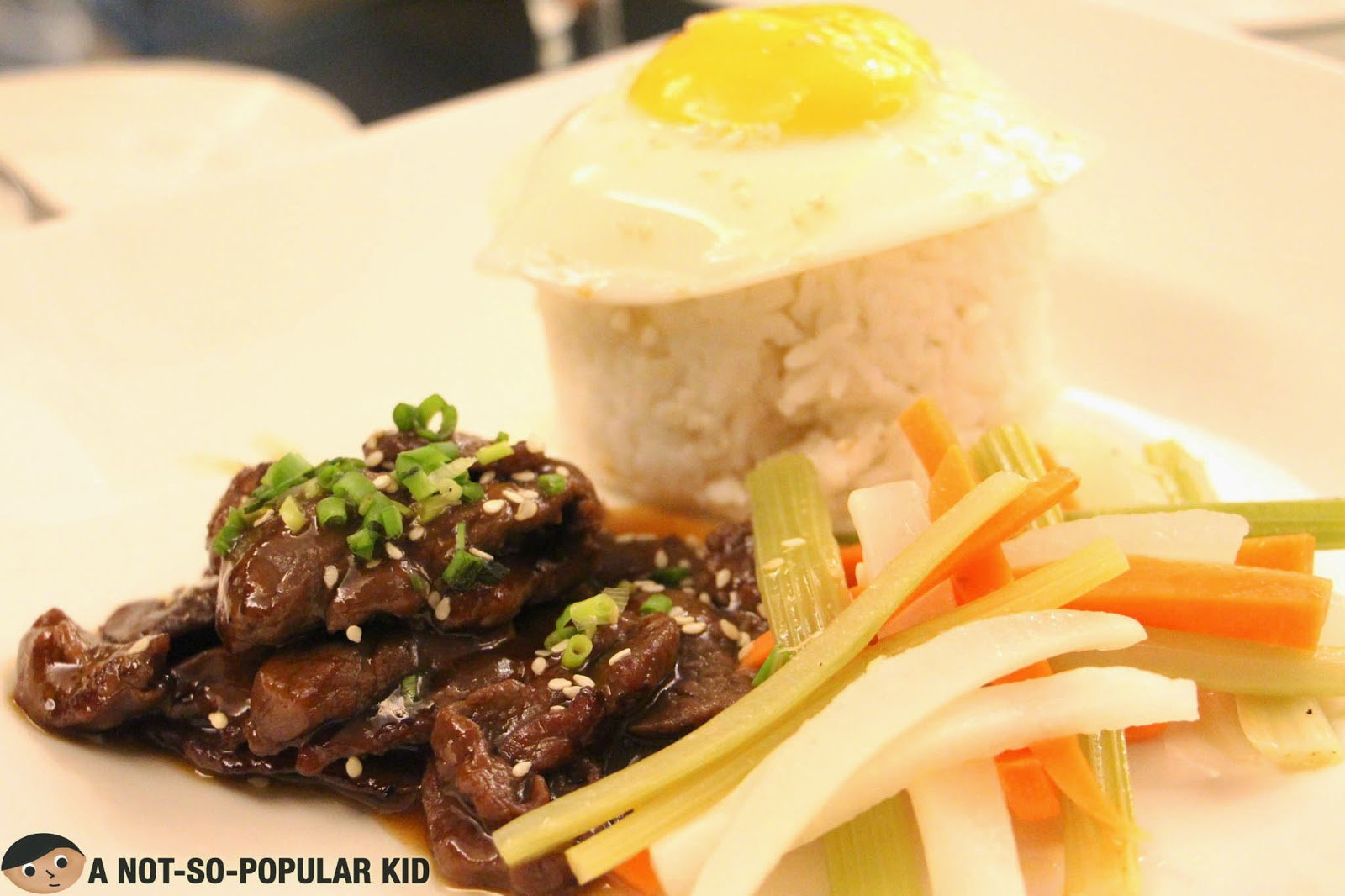 Korean Beef Bulgogi of Cafe Astoria