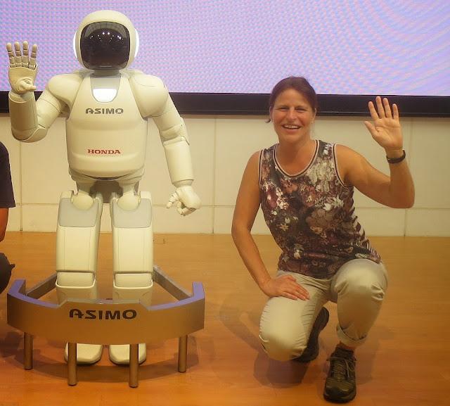 ASIMO und Barbara