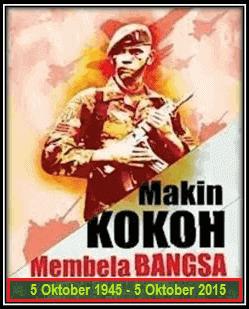 DIRGAHAYU TNI KE - 70 TAHUN 2015