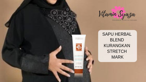 stretch mark hilang dengan herbal blend