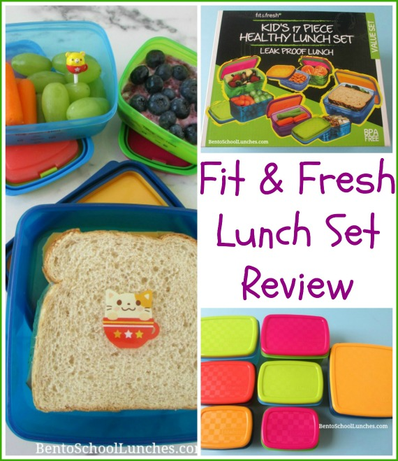 Fit & Fresh Leak Proof Lunch Set Review