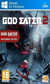 god eater 2 rage burst pc cover www.ovagames.com - God Eater 2 Rage Burst-CPY