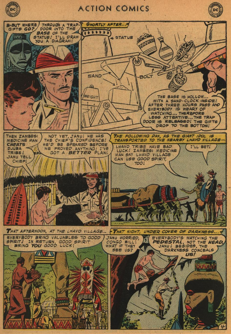 Read online Action Comics (1938) comic -  Issue #235 - 30