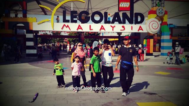 Tempat Destinasi Bercuti Cuti Sekolah Legoland