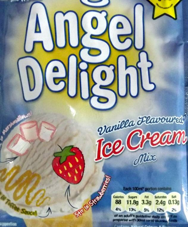 Angel Delight Ice Cream Mix Review