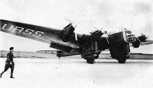 القاذفة السوفيتية DB-A بعيدة المدى
