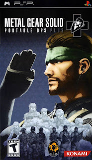 Metal Gear Solid Portable Ops Plus PSP GAME ISO