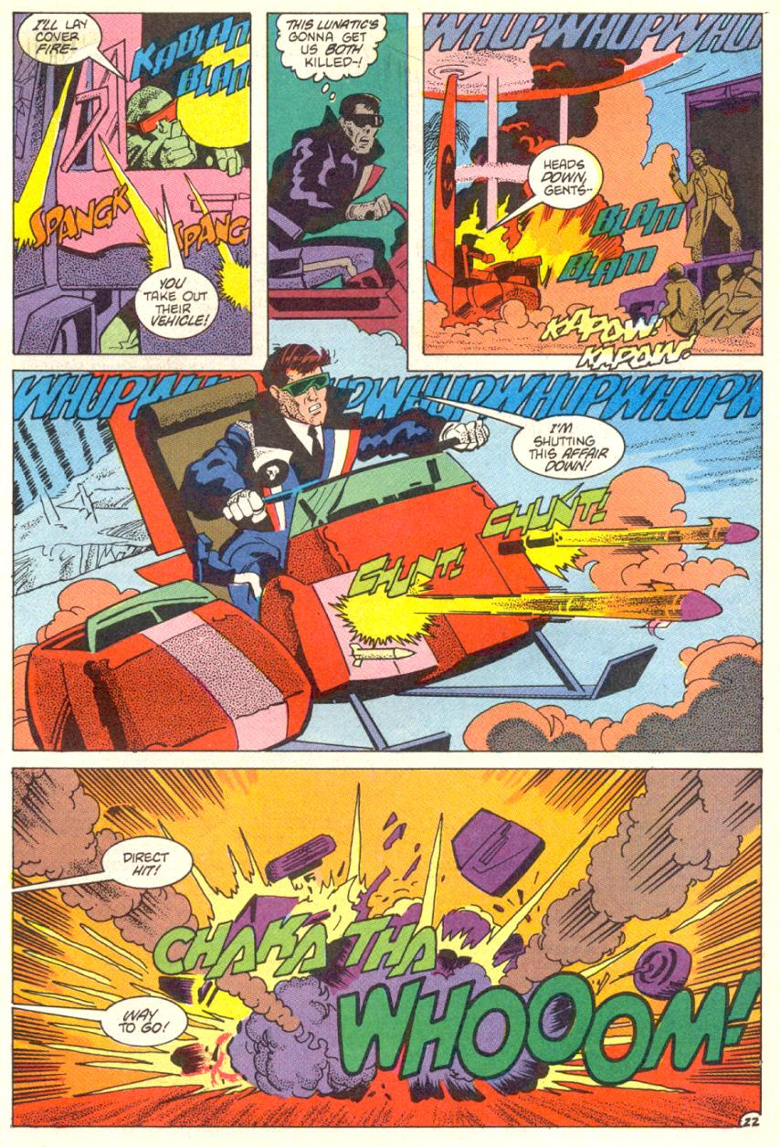 Read online American Flagg! comic -  Issue #14 - 23
