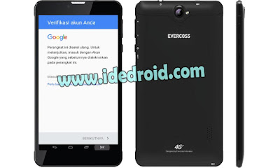 Cara Remove FRP Akun Google Evercoss TAB S4 U70 Via Flashtool