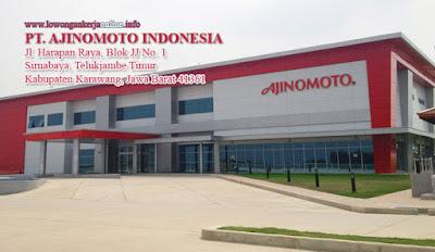 Lowongan Kerja Karawang PT Ajinomoto Indonesia