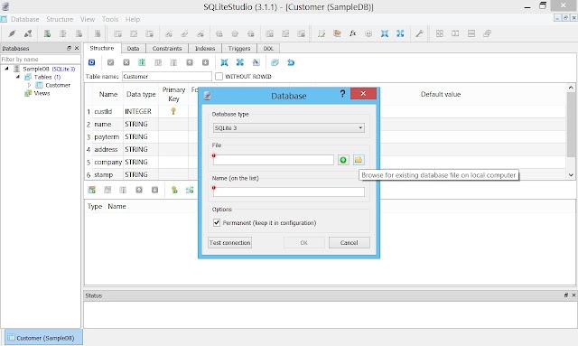SQLiteStudio Tutorial: Basic database setup - CSWire