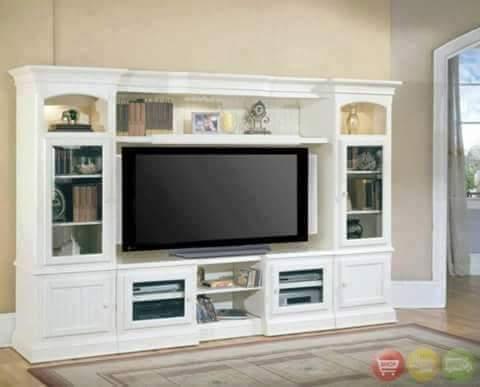 contoh bufet partisi tempat tv