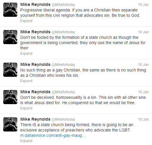 Mike reynolds for today homosexuality and christianity