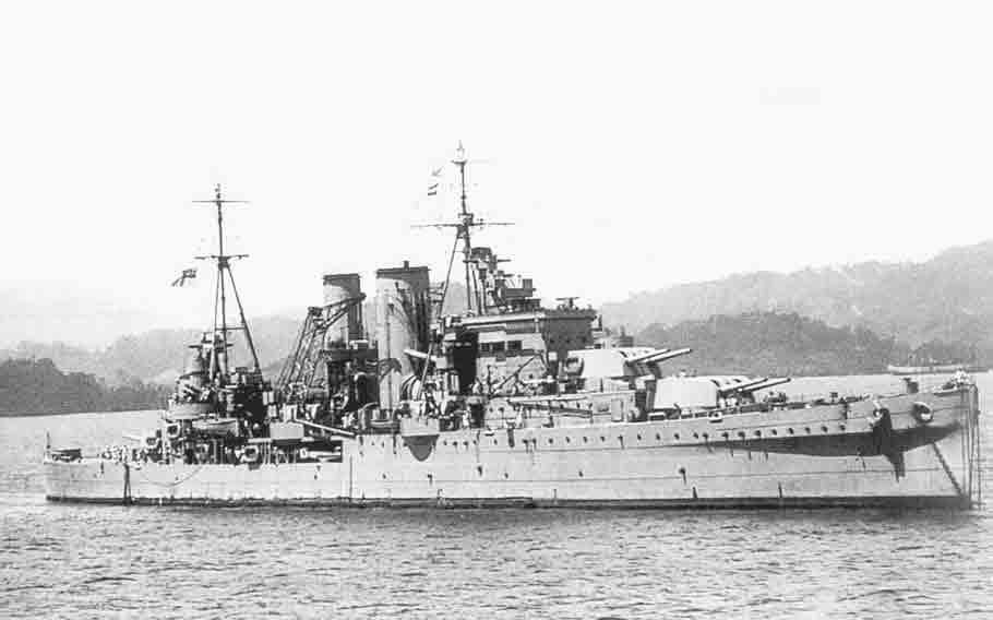 25 HMS Exeter-Edición Limitada Arte